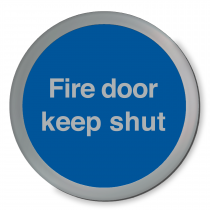 Fire Door Keep Shut Disc Sign