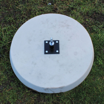Concrete Base with Bearing Assembly