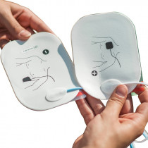 FRED PA-1 Adult defibrillation pads with RFID Tag