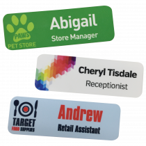 Staff Name Badges - 76 x 25mm
