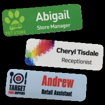 Staff Name Badges - 76 x 25mm