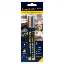 Gold And Silver Liquid Chalk Pens - Pack of 2 - Small 1-2mm Nib