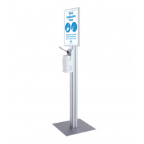 Freestanding Sanitiser Dispenser – A3 Snap Frame