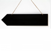Hanging HPL Chalkboard Arrow Sign