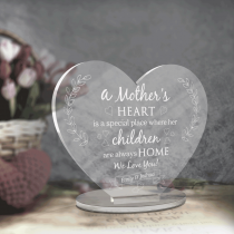 Mothers Day Gift Heart gift with base stand