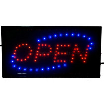 Small Open shop window hanging LED display Sign