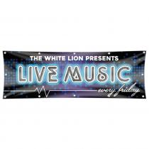 Live Music Pub Banner