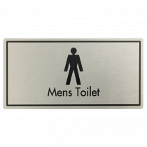 Mens Toilets Door Sign
