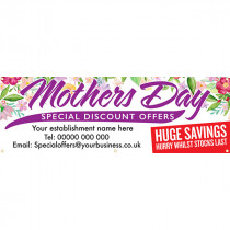 Personalised Mothers Day Special Discount Offers Banner