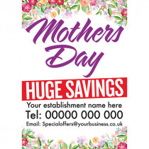 Customised Mothers Day Special Discount Offers Poster