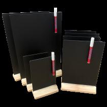 Bar Display Chalkboard Table Talkers - Multi Pack of 8