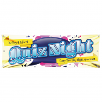 Quiz Night Pub Banner