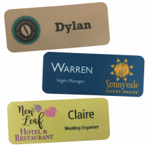 Staff Name Badges - 76 x 32mm