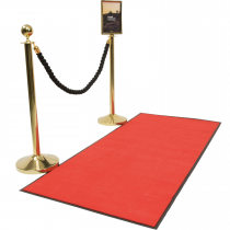 Rope Barrier Red Carpet