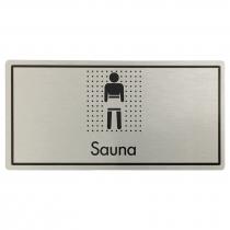 Sauna Door Sign