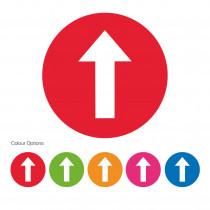 Arrow Symbol Colour School Floor Marker/ Graphic
