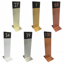 Slimline Tall Table Top Numbers