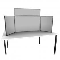 Small Table Top 3 Panel Folding Display Kit