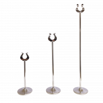 Stainless Steel Table Number Stands