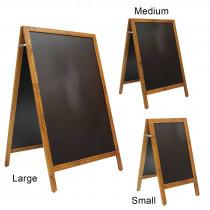 Standard Full Frame Wooden A Board