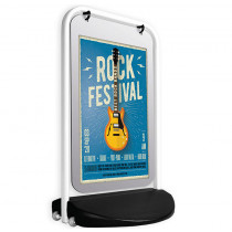 "Swinger 3000 20 x 30"" Poster Panel Pavement Display"