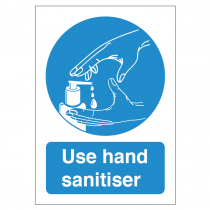 Use Hand Sanitiser Sign