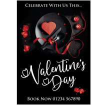 Valentines Dinner for Two Poster
