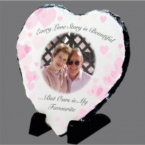 Valentines Gift Photo Slate
