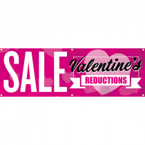 Valentines Day Sale PVC Banner
