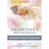 Valentines Spa Poster Poster