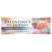 Valentines Spa Banner