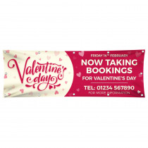 Valentines Taking Bookings Banner