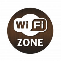 WiFi Zone Window Sticker
