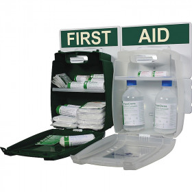 Small Workplace First Aid and Eye Wash Kit