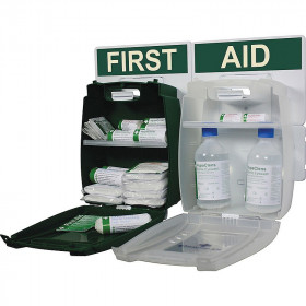 Medium Workplace First Aid and Eye Wash Kit