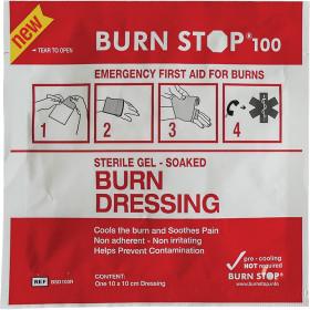 Burn Stop Burn Dressing, 10x10cm