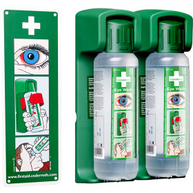 Cederroth Eye Wash 500ml (Pack of 2)