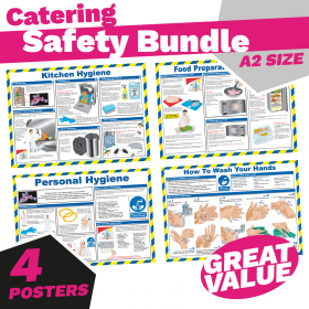 Catering Safety & Guidance Poster Pack