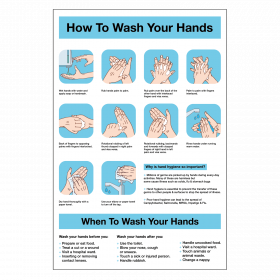 How to Wash Your Hands Correctly Staff Guidance Notice