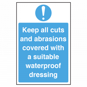 Cover All Cuts & Abrasions Notice
