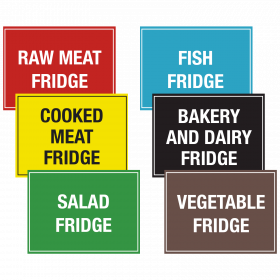 Large Fridge & Freezer Storage Notices