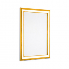 Polished Gold 25mm Poster Display Snap Frames
