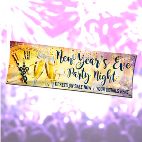 Personalised New Year Party Banners