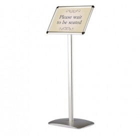 Decorative Freestanding information menu stand. Available in A4 & A3 size