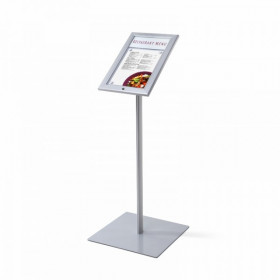 A4 Lockable Personalised Menu Display Stand / Poster Display Stands
