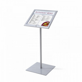 A3 Lockable Personalised Menu Display Stand / Poster Display Stands