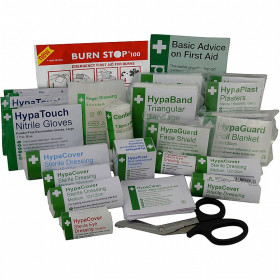 British Standard Compliant Catering First Aid Refill (Medium)