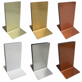 Plain Menu Holders - Single Channel