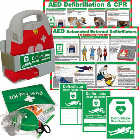 Schiller FRED PA-1 AED Automatic Bundle with Bracket