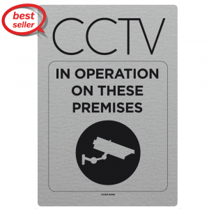 CCTV In Operation On These Premises Notice